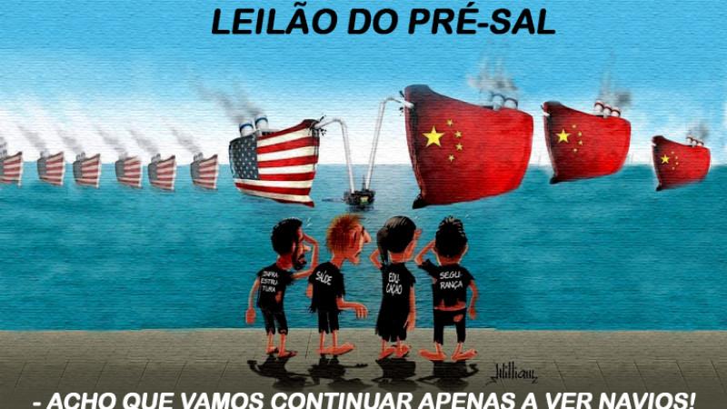 Leilão do pré-sal só traz prejuízos para o Brasil.
