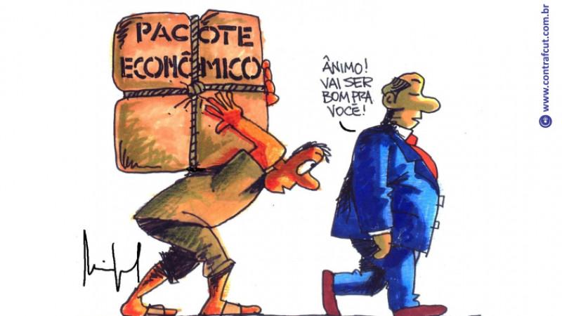 Novo pacote do governo é mais um ataque contra os trabalhadores.