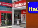 Itaú, Bradesco e Santander fecham 430 agências e demitem 7 mil.