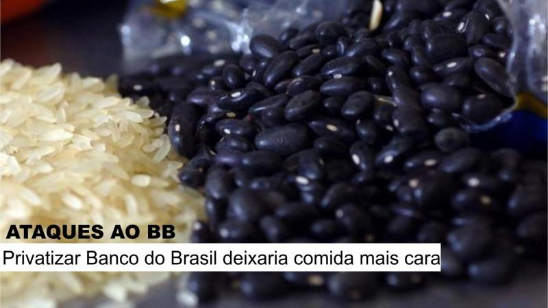 Privatização do BB deixaria comida mais cara, avalia Juvandia Moreira