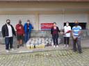 Bancários de Teresópolis-RJ entregam cestas básicas