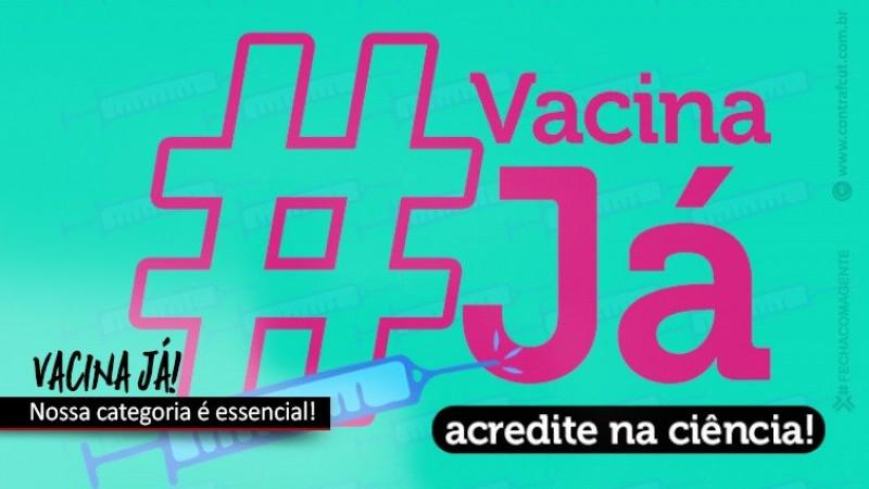 Contraf-CUT cobra que bancos defendam inclusão da categoria na prioridade da vacina