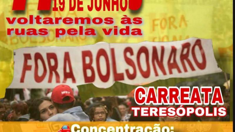 É Amanhã Carreata Fora Bolsonaro!