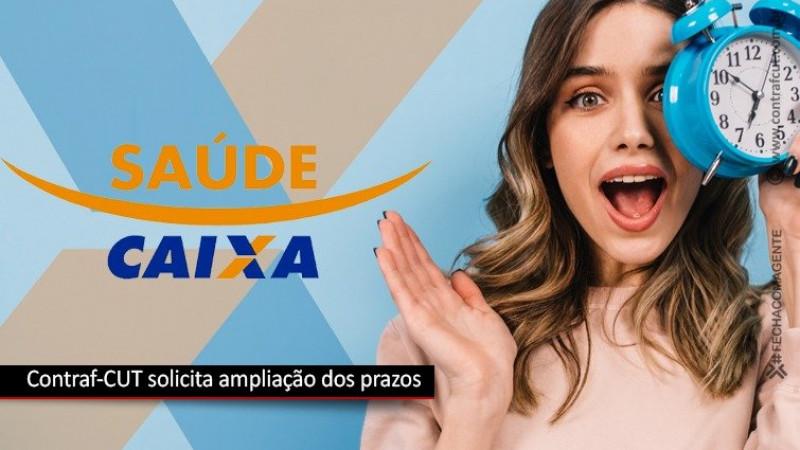 Contraf-CUT solicita ampliação dos prazos do GT Saúde Caixa