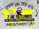 #ForaBolsonaro: Já tem atos marcados em quase 100 cidades do Brasil e do exterior