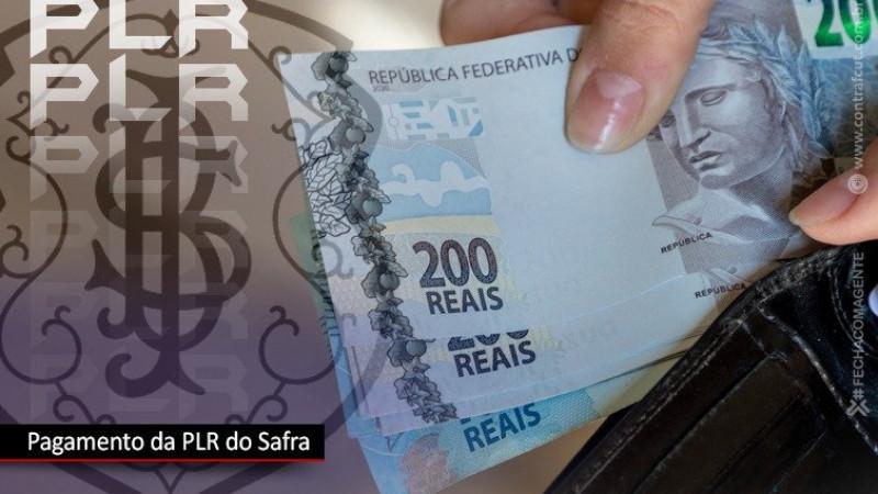 Banco Safra pagará PLR no dia 24