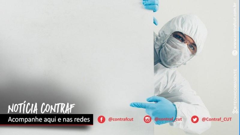 Funcionários do BNB recusam atendimento de médico sem proteção contra a Covid-19